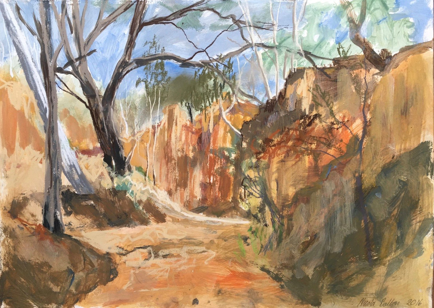 NSW Parliament Plein Air Painting Prize – October 2016